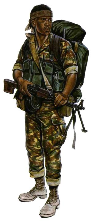 Rpk Gunner 32 Battalion Sadf